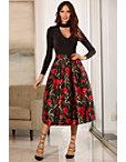 Poppy Printed Full Skirt Photo