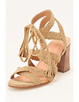 Braided Chunky Heel Sandal Photo