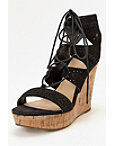 Lace-up Wedge Heel Photo