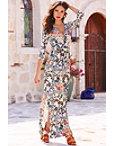 Mismatched Tile Maxi Dress Photo