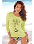 Beach Life Anchor Sweater Photo