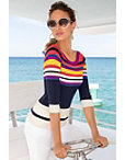 Color Block Sweater I Photo