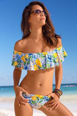 Limoncello flounce bikini