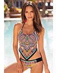 Paisley Handkerchief Tankini Photo