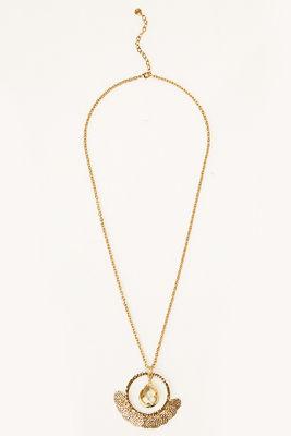 Dangling jewel pendant