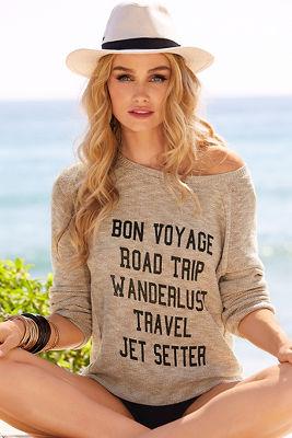 Bon voyage sweater