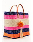 Bright Stripe Tote Bag Photo