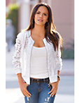 Crochet Bomber Jacket Photo