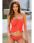 Drape Front Tankini Photo