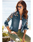 Embellished Denim Jacket Photo