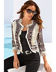 Embroidered Fringe Jacket Photo
