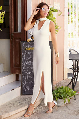 Travel Keyhole Maxi Dress I