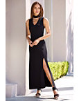 Travel Keyhole Maxi Dress Photo