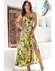 Tropical Bouquet Maxi Dress Photo