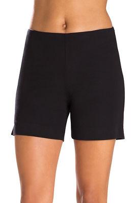 Twill Side Zip Five Inch Short