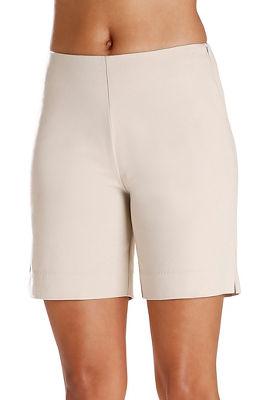 Twill Side Zip Seven Inch Short