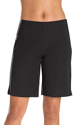 Twill Side Zip Nine Inch Short