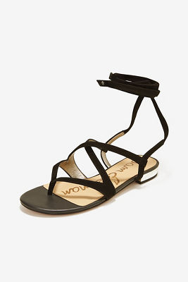Ankle wrap gladiator sandal