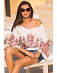Embroidered Boho Top Photo
