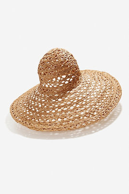 Renada open weave hat