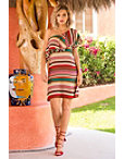 Stripe Tassel Dress Photo