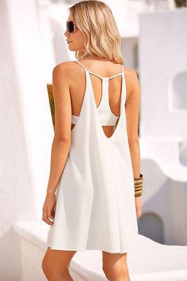 T-back swing dress