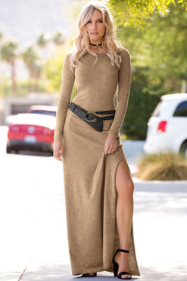 Long Maxi Dress Sweater