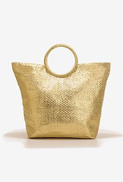 Classic Gold Tote - Tote, Bags | Boston Proper