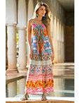 Colorful Embellished Maxi Dress Photo