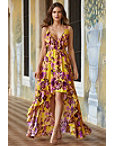 Golden Lily Maxi Dress Photo