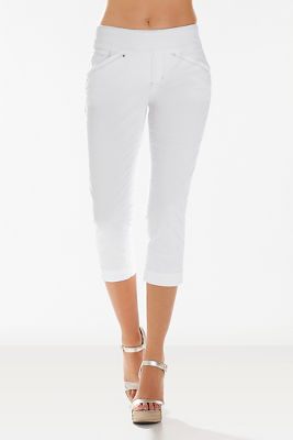 Marion crop pull-on jean