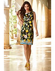 Noir Lemon Floral Dress Photo
