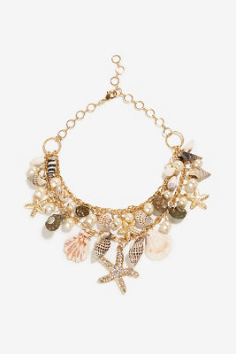Sea life statement necklace