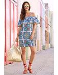 Sicilian Tile Dress Photo