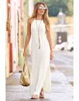 Travel High-neck Maxi Dress Photo