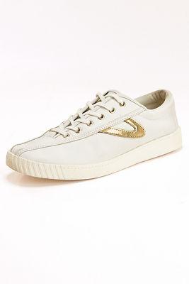 gold detail sneaker