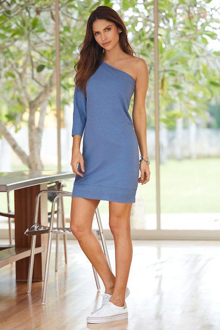 One shoulder lounge dress image
