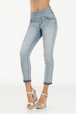 Amelia released hem pull-on jean