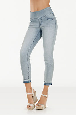 Amelia released hem pull-on jean