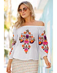 Embroidered Top Photo