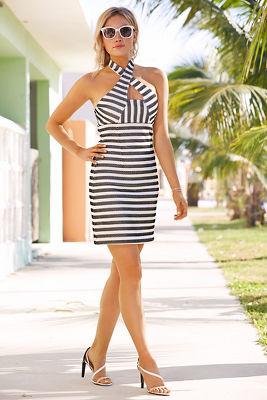 Cubanito stripe dress