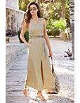 Linen Maxi Dress Photo