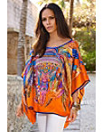 Jeweled Feather Tunic Top Photo