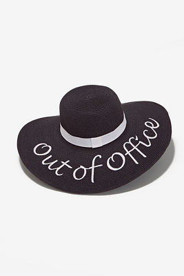 Out of office floppy hat