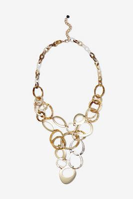 Multi hoop necklace