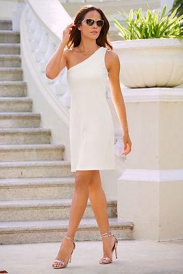 Travel one shoulder dress