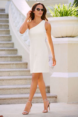 Travel one shoulder dress