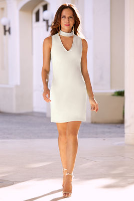Travel keyhole dress