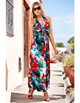 Tropical Palms Maxi Dress Photo