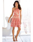 One Shoulder Lace Dress Photo